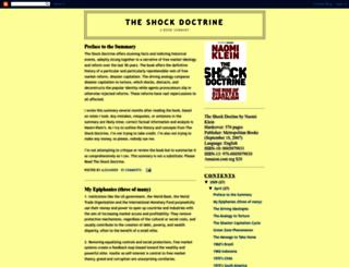 shockdoctrinesummary.blogspot.com screenshot