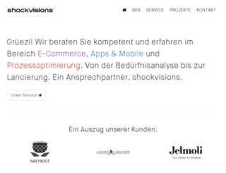shockvisions.com screenshot