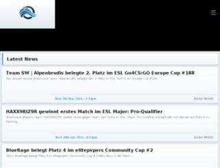 shockwave.esportsify.com screenshot