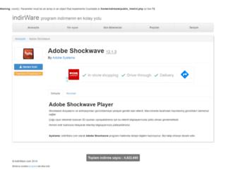 shockwave.indirware.com screenshot