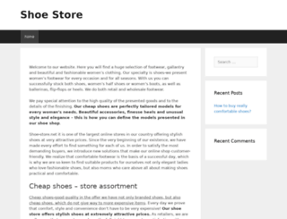 shoe-store.net screenshot