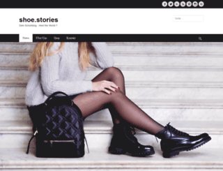 shoe-stories.de screenshot