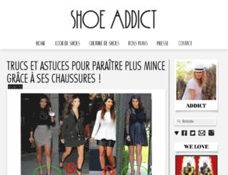 shoeaddict.fr screenshot
