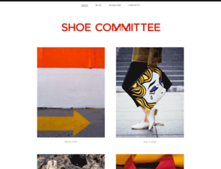 shoecommittee.com screenshot