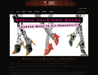 shoedesignstudio.com screenshot