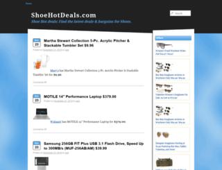 shoehotdeals.com screenshot