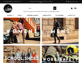 shoemakersonline.com.au screenshot