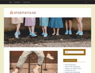 shoemania.se screenshot