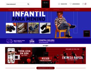 shoemix.com.br screenshot