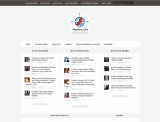 shoenews.net screenshot