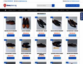 shoeplace.ng screenshot