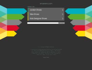shoeretro.com screenshot