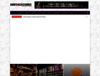 shoesandaccessories.in screenshot