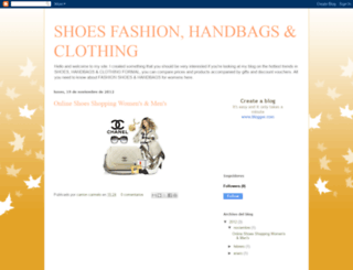 shoesfashionandhandbags.blogspot.com.ar screenshot