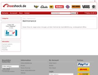 shoeshock.eu screenshot
