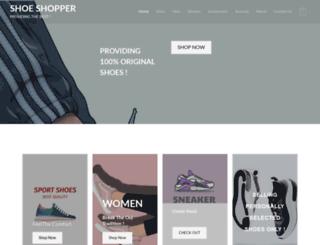 shoeshopper.in screenshot