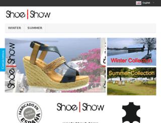 shoeshow.es screenshot