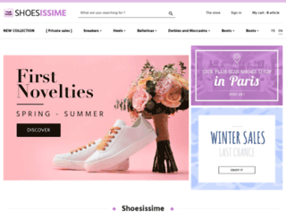 shoesissime.com screenshot