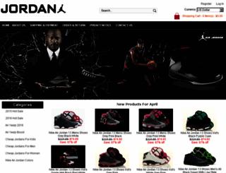 shoesjordan.net screenshot