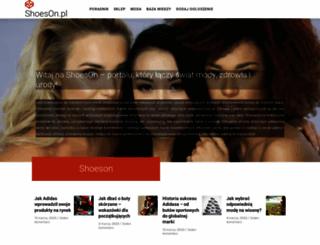 shoeson.pl screenshot