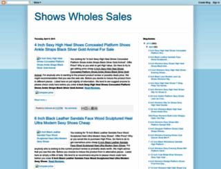 shoeswholesales.blogspot.com screenshot