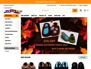shoeszoo.com screenshot