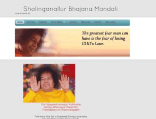 sholinganallursai.org screenshot