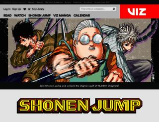 shonenjump.com screenshot