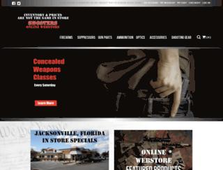 shootersjax.com screenshot