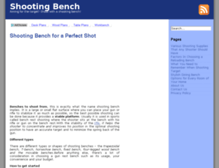 shootingbench.net screenshot