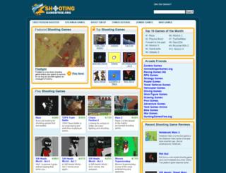 shootinggamesfree.org screenshot