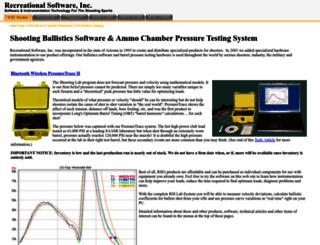 shootingsoftware.com screenshot