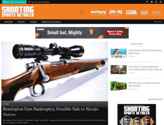 shootingsportsretailer.com screenshot
