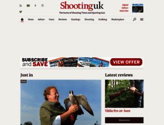 shootinguk.co.uk screenshot