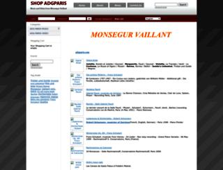 shop-adgparis.com screenshot