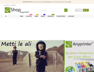 shop-anyprinter.it screenshot