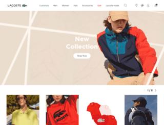 shop-at.lacoste.com screenshot