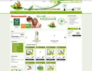 shop-biobabby.fr screenshot