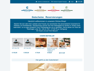 shop-carasana.de screenshot