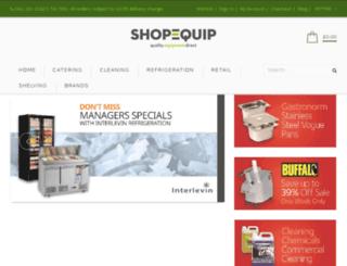 shop-equip.co.uk screenshot