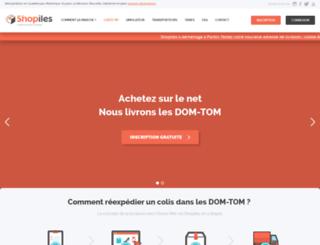 shop-iles.fr screenshot