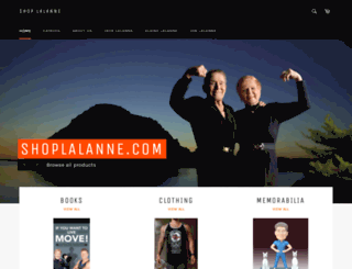 shop-lalanne.myshopify.com screenshot
