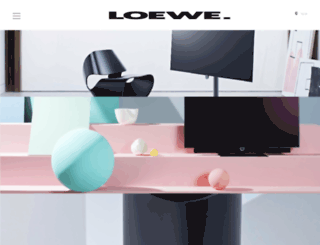 shop-login.loewe.tv screenshot