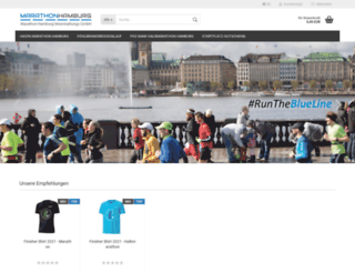 shop-marathonhamburg.de screenshot