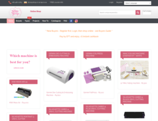 shop-n-scrap.co.za screenshot