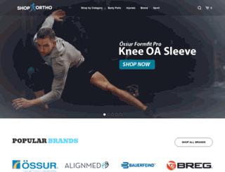 shop-orthopedics.com screenshot