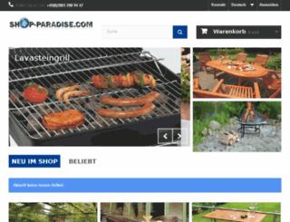 shop-paradise.eu screenshot