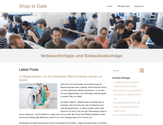 shop-to-date-forum.de screenshot