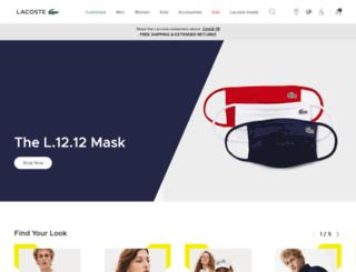 shop-uk.lacoste.com screenshot