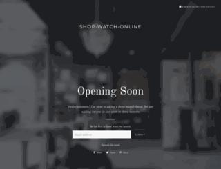 shop-watch-online.com screenshot